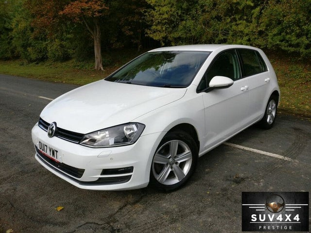 2017 Volkswagen Golf 1.6TDI Match Edition Hatchback 5d (17 reg)