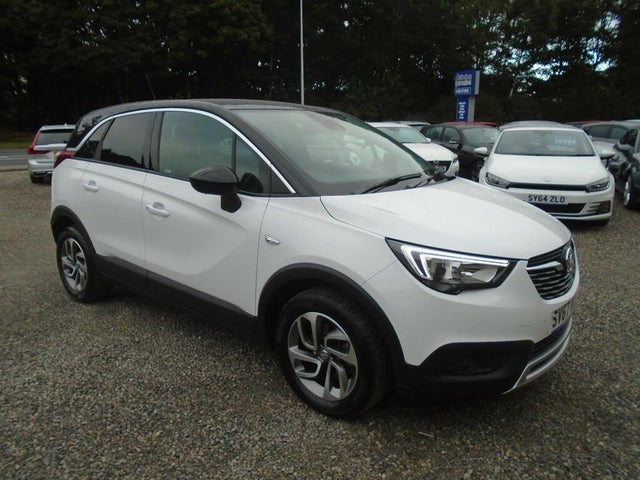 2017 Vauxhall Crossland X 1.2 Tech Line NAV (130ps) Turbo (s/s) (67 reg)