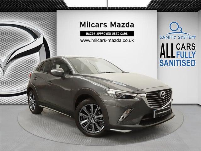 2017 Mazda CX-3 2.0 GT Sport (67 reg)