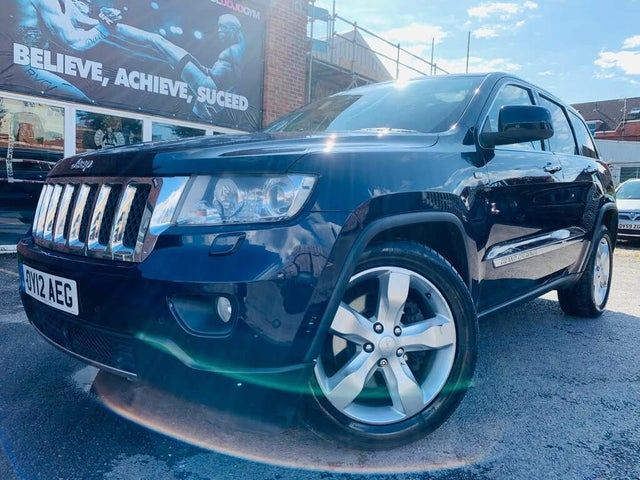 Used 2012 Jeep Grand Cherokee Overland for sale in Bath ...