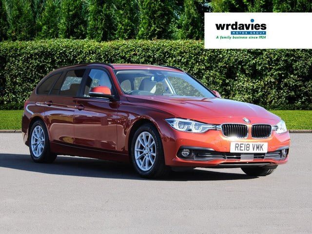 2018 BMW 3 Series 2.0TD 320d ED Plus Touring 5d Auto (18 reg)