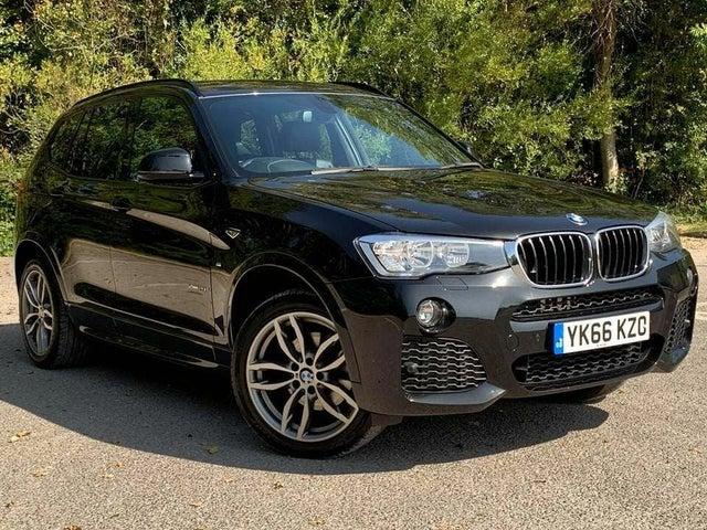 2016 BMW X3 2.0TD xDrive20d M Sport Auto (66 reg)