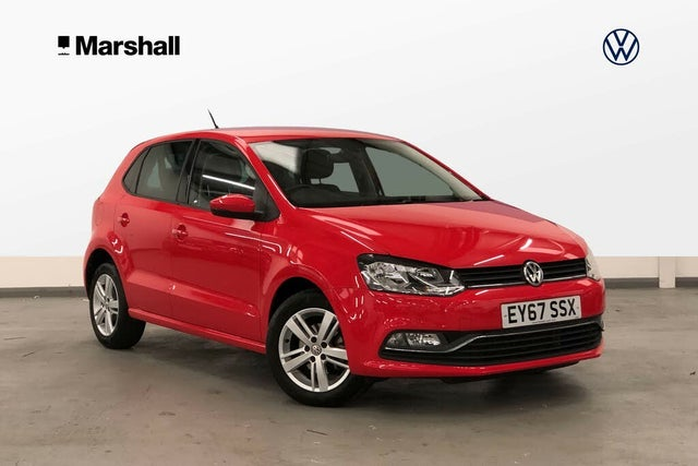 2017 Volkswagen Polo 1.0 Match Edition (75ps) (s/s) 5d (67 reg)