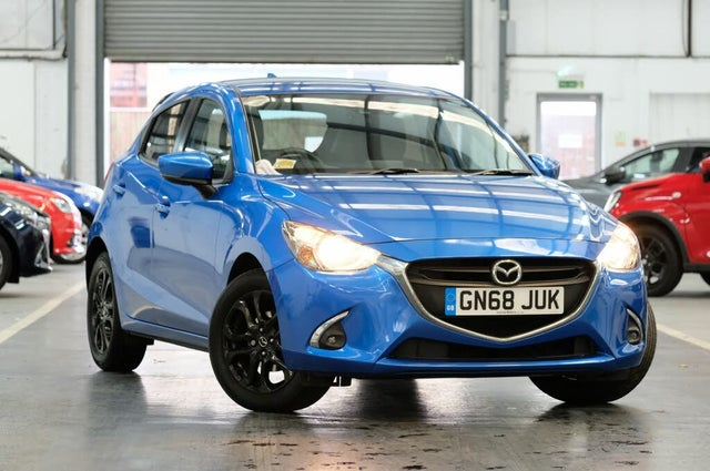 2018 Mazda Mazda2 1.5 Black+ Edition (68 reg)