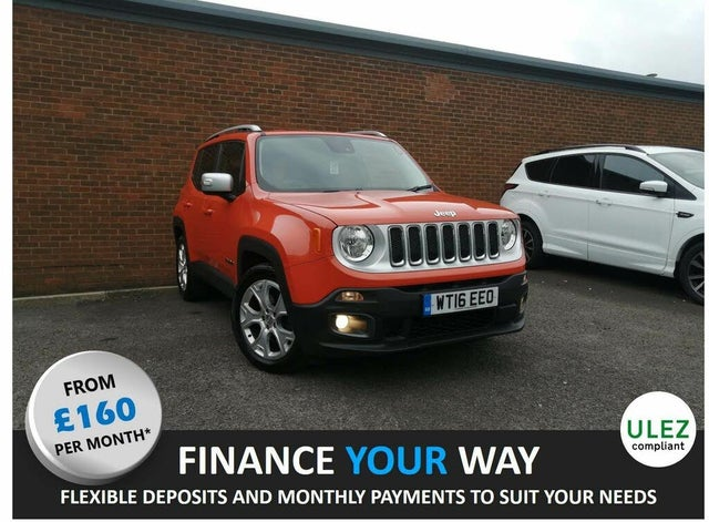 2016 Jeep Renegade 1.6 Multijet II Limited (s/s) (16 reg)