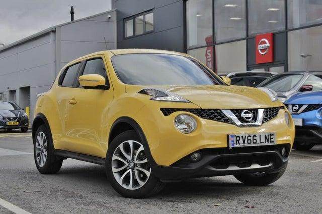 2016 Nissan Juke 1.2 Tekna (s/s) (66 reg)