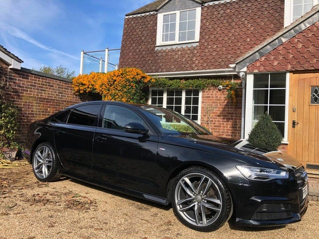 2017 Audi A6 Saloon 2.0TDI ultra Black Edition (67 reg)