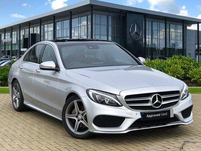 2016 Mercedes-Benz C-Class 2.1d C220d AMG Line (170ps) (Premium Plus)(s/s) Saloon 4d Auto (66 reg)