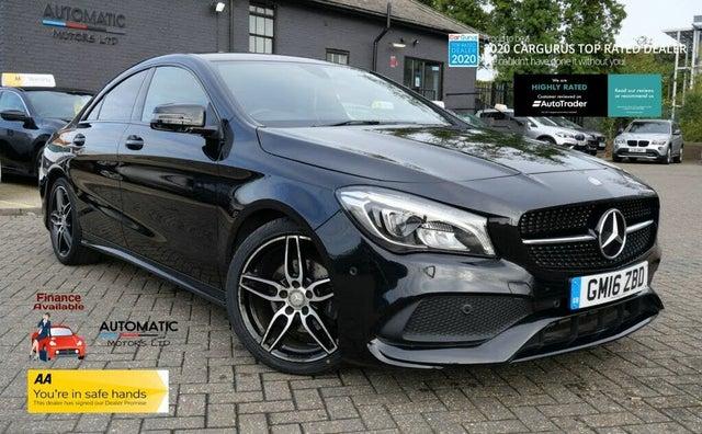 2016 Mercedes-Benz CLA 1.6 CLA 180 AMG Line Coupe 4d (16 reg)