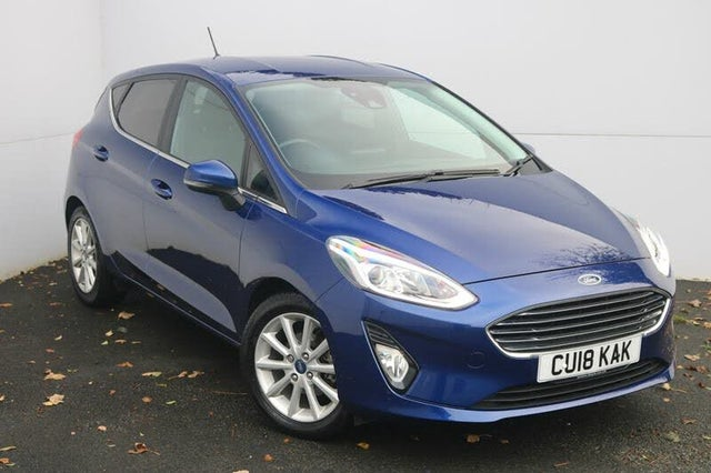 2018 Ford Fiesta 1.0T Titanium (100ps) 5d Powershift (18 reg)