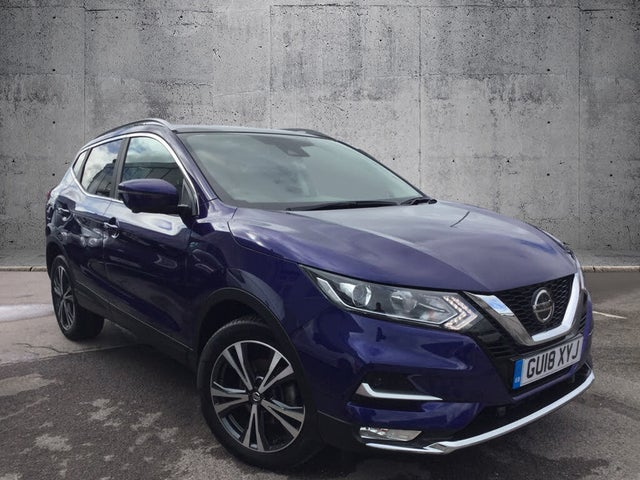 2018 Nissan Qashqai 1.2 DIG-T N-Connecta (Glass Roof Pack) Xtronic CVT (18 reg)