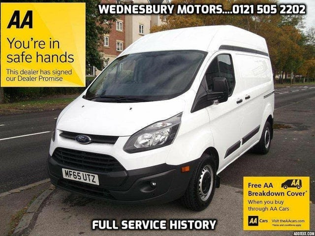 2015 Ford Transit Custom 2.2TDCi 270 L1H1 (125PS) Panel Van (65 reg)