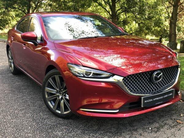 2020 Mazda Mazda6 2.5 SKYACTIV-G GT Sport (Nav+) Saloon 4d (70 reg)