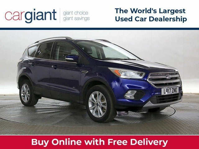 2017 Ford Kuga 2.0TDCi Titanium (180ps) 4X4 ( X Pack) Powershift (17 reg)