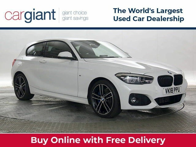 2018 BMW 1 Series 2.0TD 118d M Sport Shadow Edition 3d Auto (18 reg)