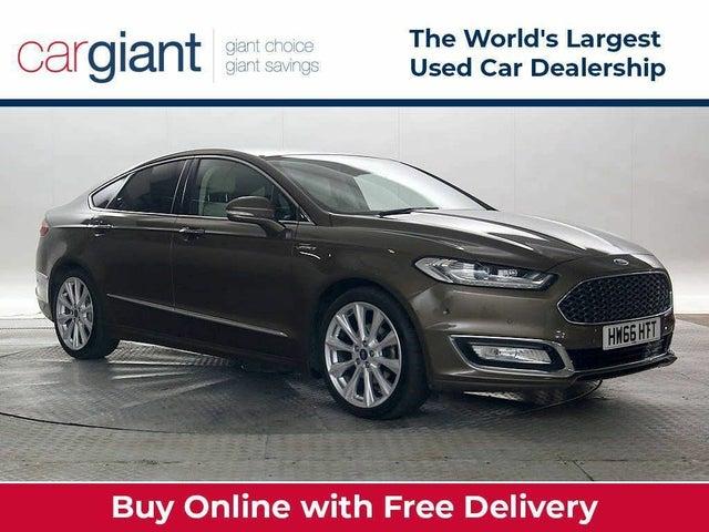2015 Ford Mondeo 2.0TDCi Vignale (180ps) Saloon 4d Powershift (66 reg)