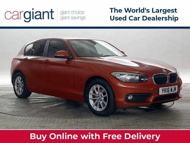 2016 BMW 1 Series 1.5TD 116d SE 5d Auto (16 reg)