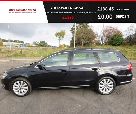 2013 Volkswagen Passat 2.0TD Highline Estate 5d (13 reg)