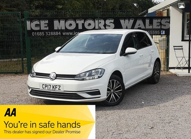 2017 Volkswagen Golf 1.6TDI SE (115ps) (s/s) Hatchback 5d (17 reg)