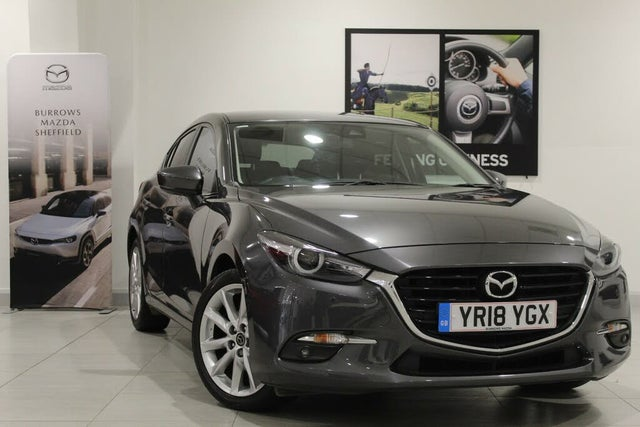 2018 Mazda Mazda3 2.0 Sport Nav (120ps) Hatchback 5d (18 reg)