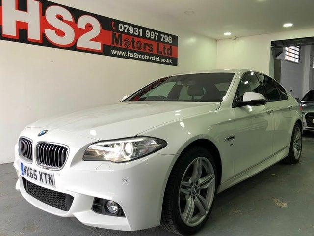 2015 BMW 5 Series 2.0TD 520d M Sport (190bhp) Saloon 4d Auto (65 reg)