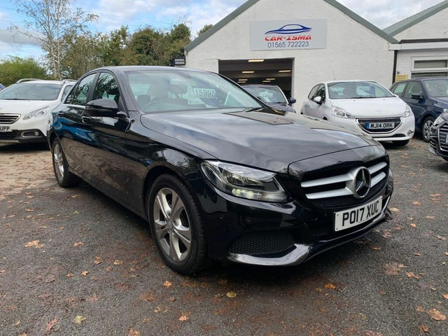 2017 Mercedes-Benz C-Class 2.0 C200 SE Executive edition Saloon 4d 9G-Tronic (17 reg)