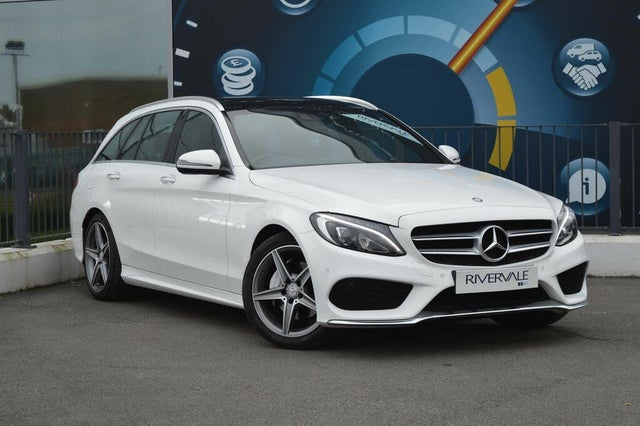 2017 Mercedes-Benz C-Class 2.1d C220d AMG Line (Premium)(s/s) Estate 5d 9G-Tronic Plus (66 reg)
