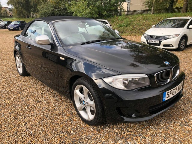 2013 BMW 1 Series 2.0TD 118d Exclusive Edition Convertible (62 reg)