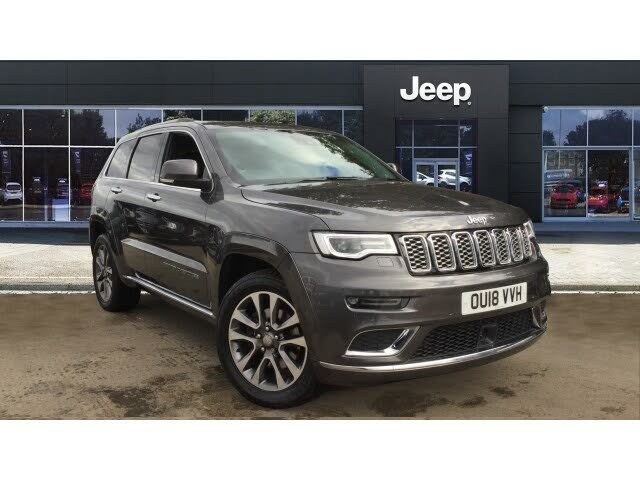 2018 Jeep Grand Cherokee 3.0CRD Summit (18 reg)