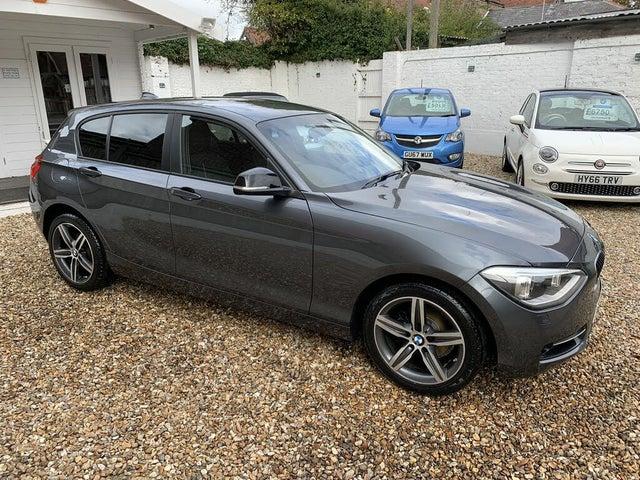2014 BMW 1 Series 1.6 116i Sport (s/s) 5d (64 reg)