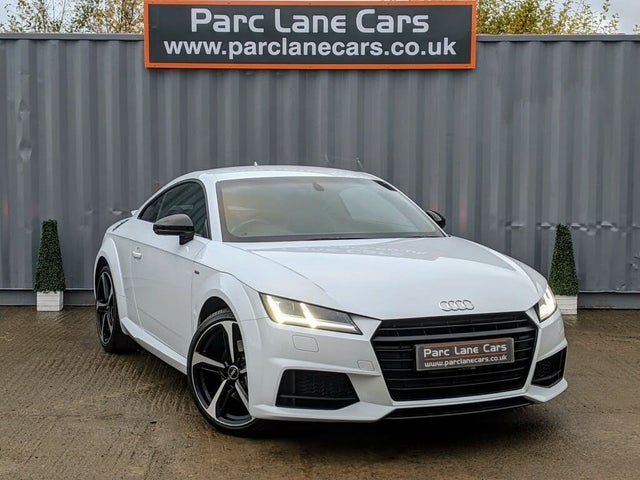 2017 Audi TT Coupe 1.8 TFSI Black Edition (17 reg)