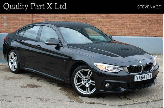 2014 BMW 4 Series 3.0TD 430d xDrive M Sport Gran 4d (64 reg)