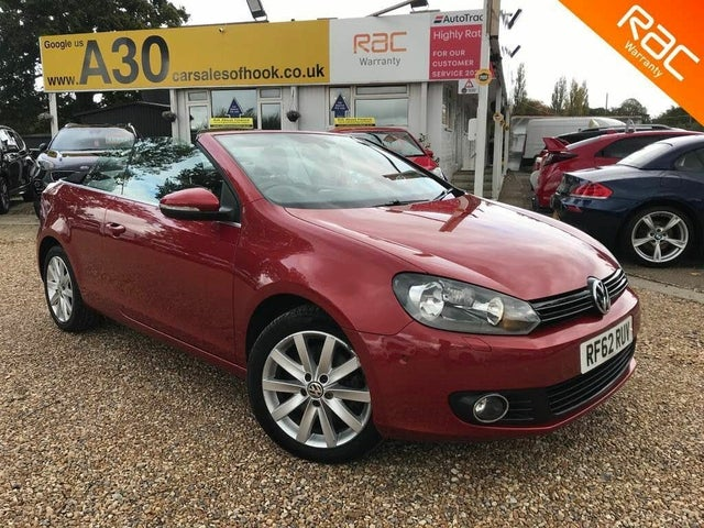 2013 Volkswagen Golf 2.0TD SE BlueMotion Tech Cabriolet 2d (62 reg)