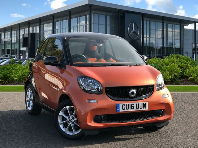 2016 Smart fortwo 1.0 Passion (70bhp) (s/s) Coupe (16 reg)