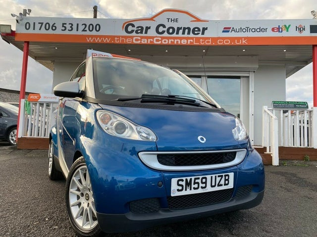2009 Smart fortwo 1.0 Passion (71bhp) Coupe (59 reg)