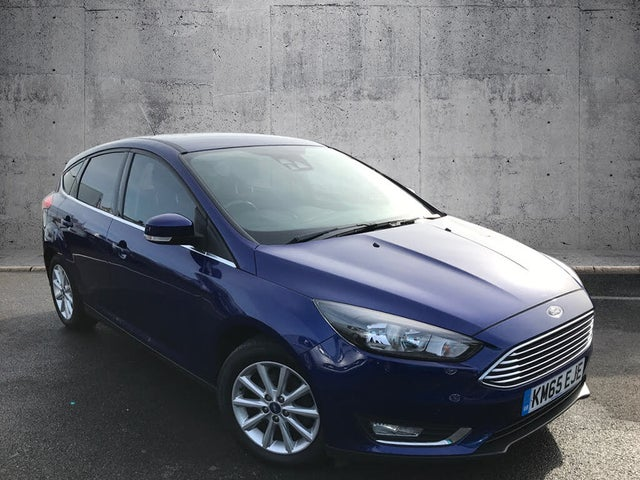 2016 Ford Focus 1.0T Titanium (125ps) Hatchback Auto (65 reg)