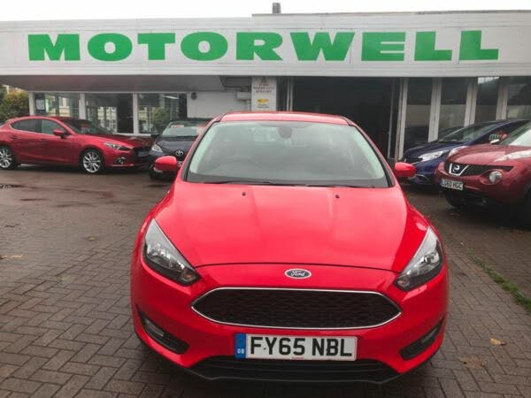 2015 Ford Focus 1.6TDCi Zetec Hatchback (65 reg)