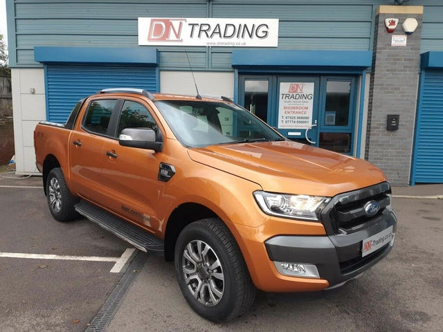 2017 Ford Ranger 3.2TD Wildtrak (200Ps)(EU6) Pick-Up auto (67 reg)