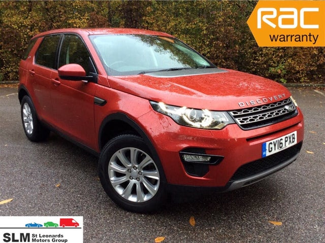 2016 Land Rover Discovery Sport 2.0Td4 SE Tech (180ps) (s/s) (16 reg)
