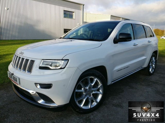 2017 Jeep Grand Cherokee 3.0CRD Summit (17 reg)