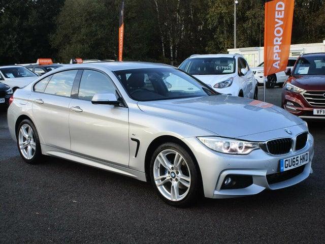 2015 BMW 4 Series 2.0TD 420d xDrive M Sport (184bhp) (s/s) Gran 5d (65 reg)