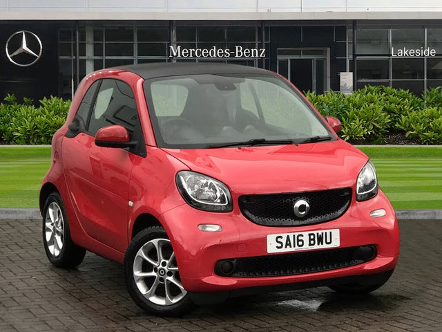 2016 Smart fortwo 1.0 Passion (70bhp) (Premium)(s/s) Coupe (16 reg)