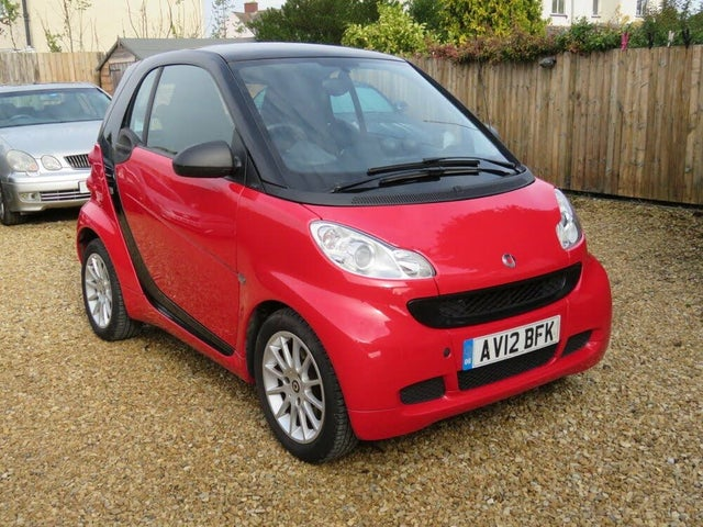 2012 Smart fortwo 1.0 Passion (71bhp) Coupe Softouch (12 reg)