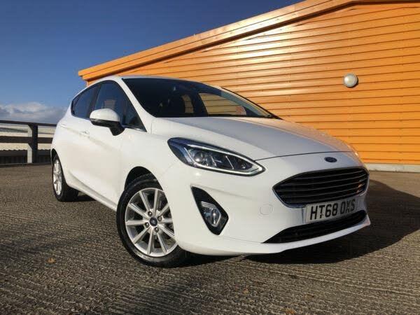 2019 Ford Fiesta 1.0T Titanium (125ps) (s/s) 5d (68 reg)