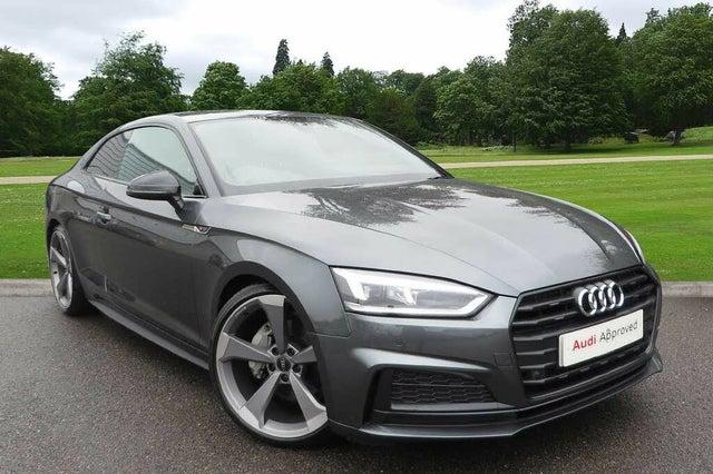 2019 Audi A5 2.0 40 TDI Black Edition (s/s) Coupe 2d (19 reg)