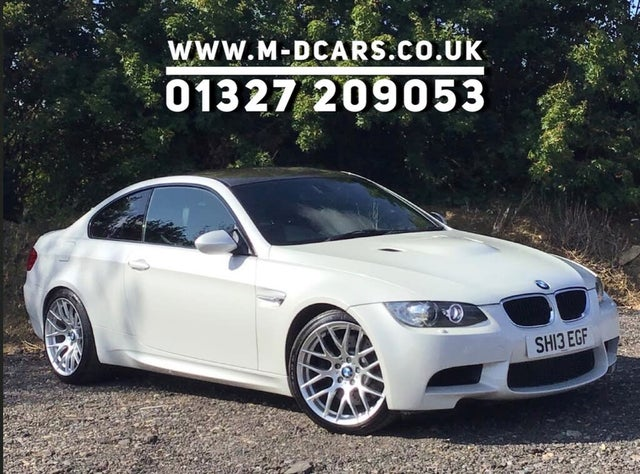 2013 BMW 3 Series 4.0 M3 Coupe DCT (0U reg)