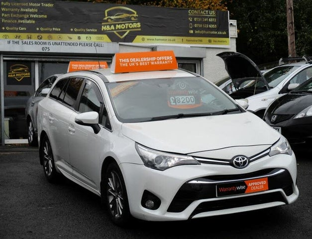 2016 Toyota Avensis 1.6D-4D Business Edition Touring Sports 5d (66 reg)