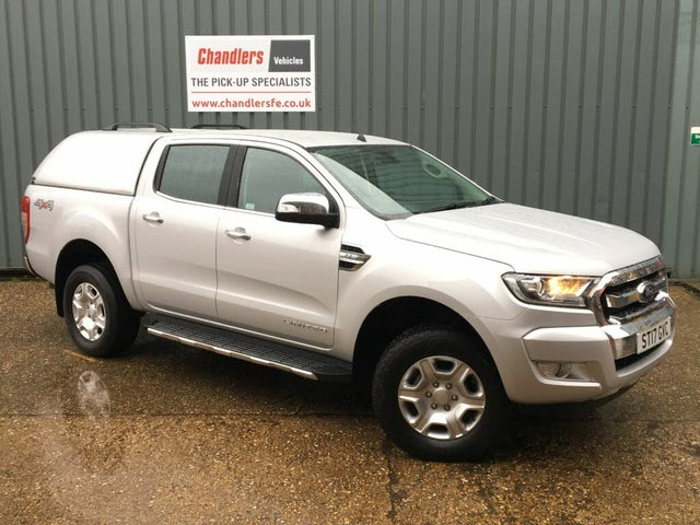 2016 Ford Ranger 2.2TD Double Cab Limited (17 reg)