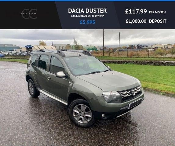 2015 Dacia Duster 1.5D Laureate (107bhp) (15 reg)