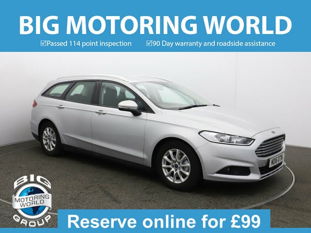 2016 Ford Mondeo 2.0TDCi Style Estate (16 reg)